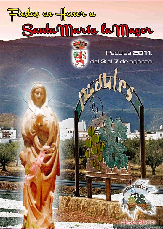 Programa fiestas verano 2011