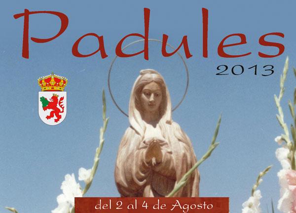 Programa fiestas Padules 2013