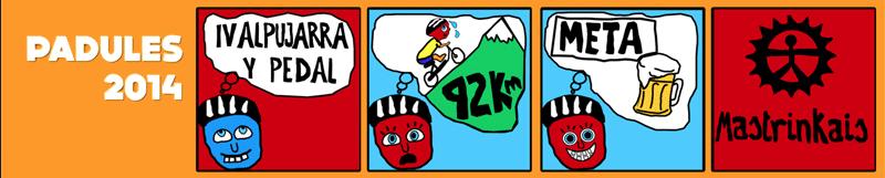 IV alpujarra y Pedal. Padules 2014. Logo
